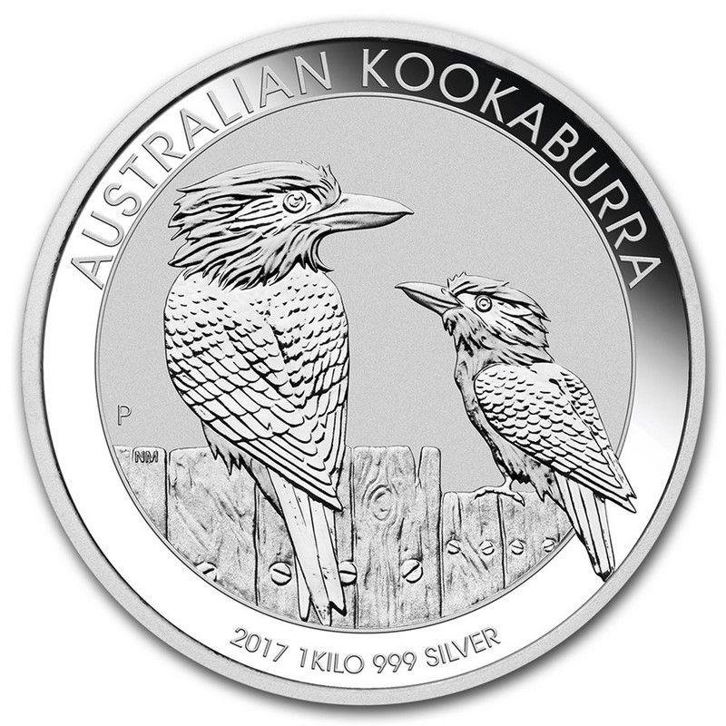 Moneda Kookaburra De Plata 1 Kg 2017